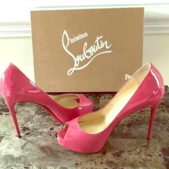 louboutin hot pink heels